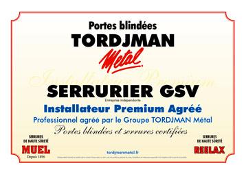 Votre Métallier à Pontault Combault Dans La Seine Et Marne - Porte placard coulissante jumelé avec portes blindées tordjman
