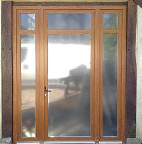 volet porte fenetre bois free porte fentre pvc bicolore chne irlandais luextrieur et blanc. Black Bedroom Furniture Sets. Home Design Ideas